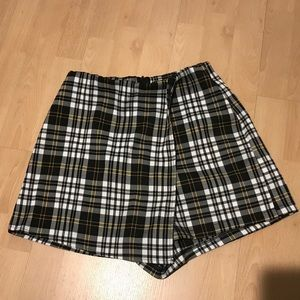 Plaid Skirt/ Shorts